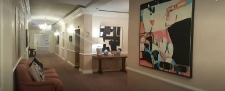 Corridor original art:  Artwork by Custom Art Framing (Pty) ltd