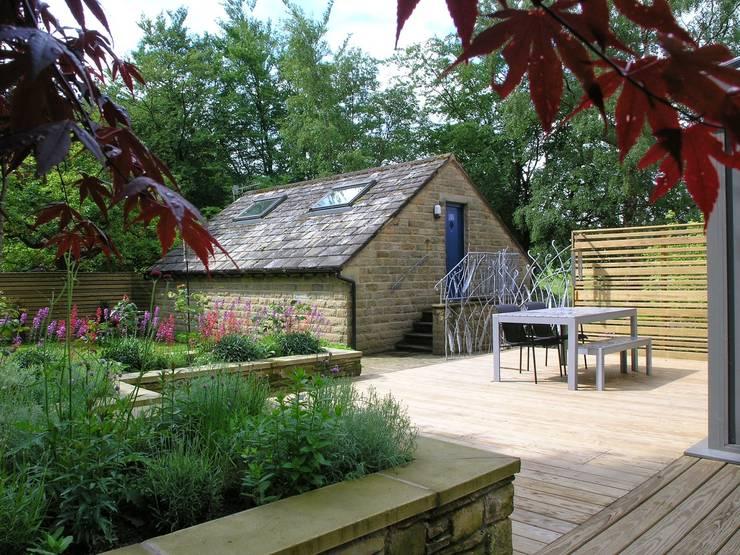 Landscape Design Project In Greenfield Oldham By David Keegan Garden