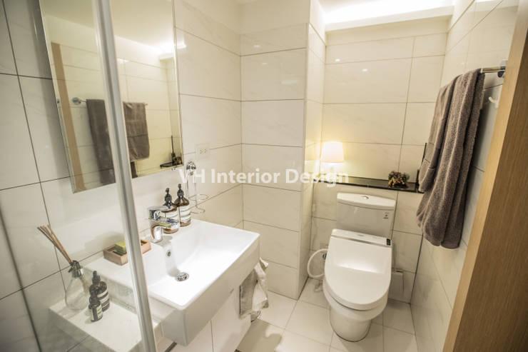 士林黃公館:  浴室 by VH INTERIOR DESIGN