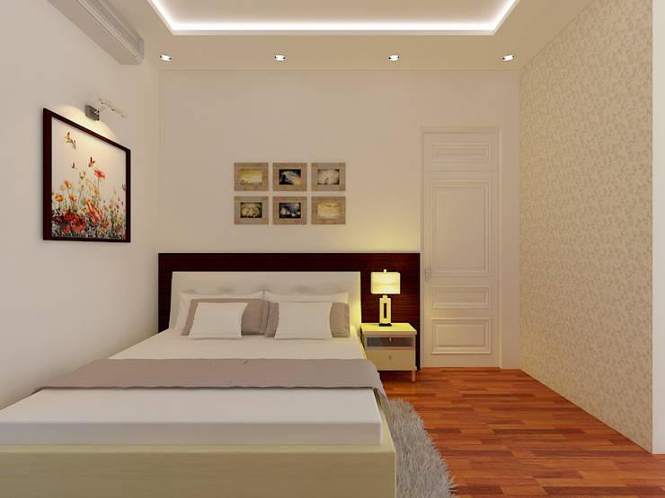 modern Bedroom by Công ty TNHH Xây Dựng TM – DV Song Phát