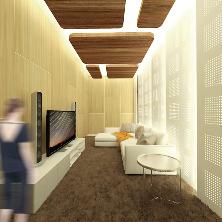 Karaoke Room:  Ruang Multimedia by SEKALA Studio