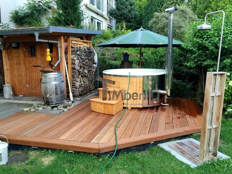 badefass badezuber und fassauna von timberin badefass. Black Bedroom Furniture Sets. Home Design Ideas