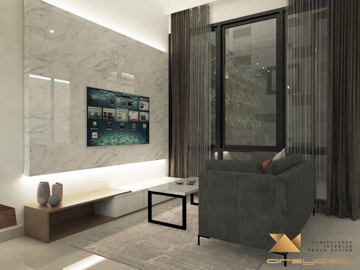 Ruang Keluarga:   by Arsa Synergy Design