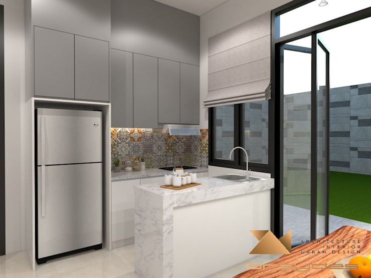 Dapur:   by Arsa Synergy Design