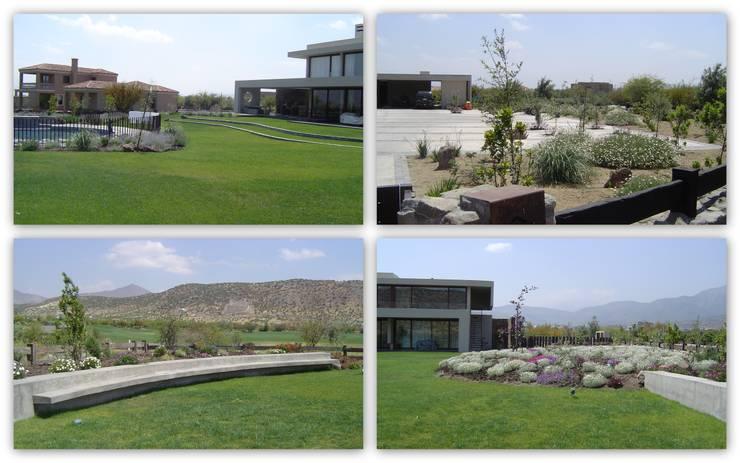 Casa Hacienda de Chicureo:  de estilo  por Argeo Limitada