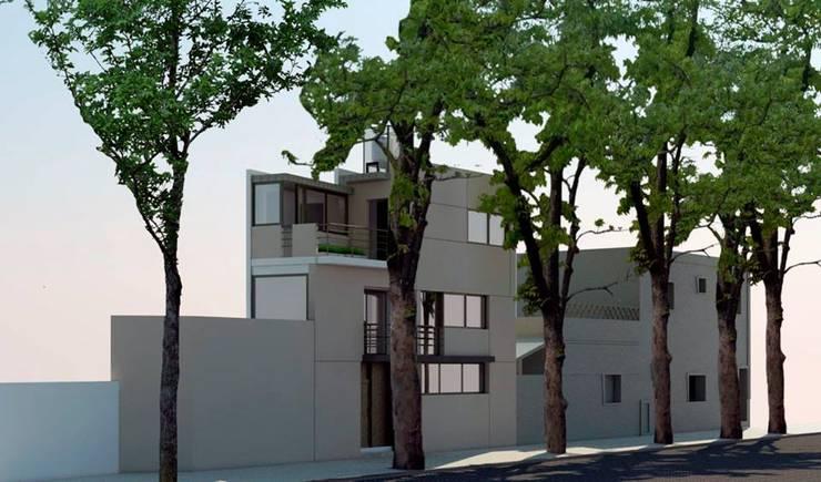 PROYECTO CASA O´HIGGINS: Casas de estilo  por S+T ESTUDIO INTEGRAL