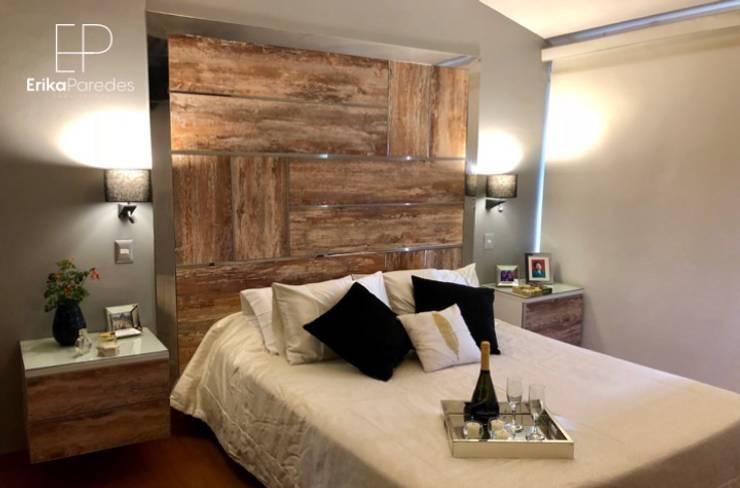 Dormitorio Rustico y Moderno: Dormitorios de estilo  por EPG  Studio