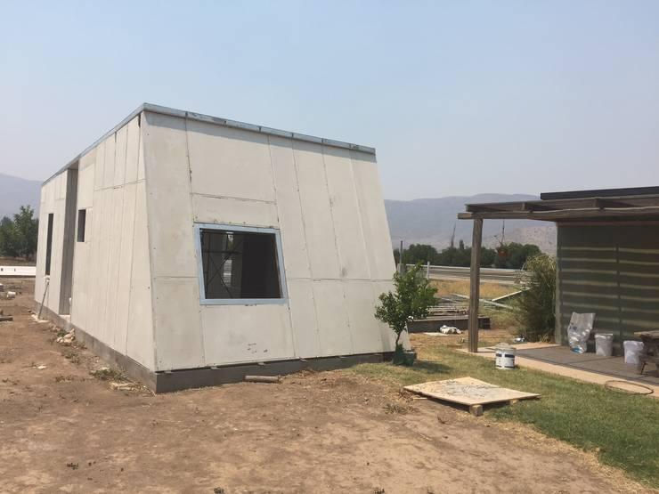 CAbañas: Casas de campo de estilo  por ALLEGRE ARQUITECTOS