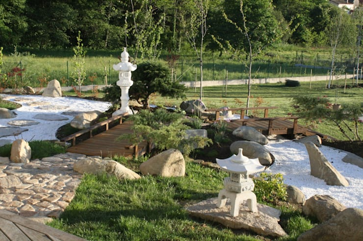 Taman zen by Jardines Japoneses -- Estudio de Paisajismo