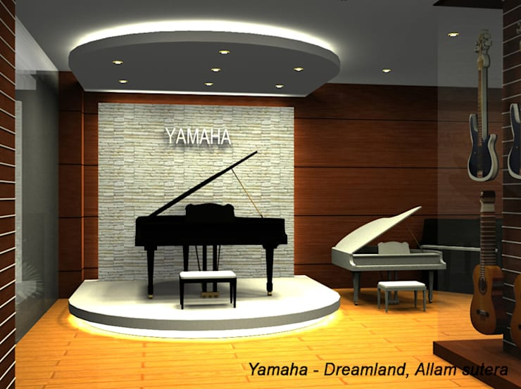Yamaha Music Square:   by D'Sign Company