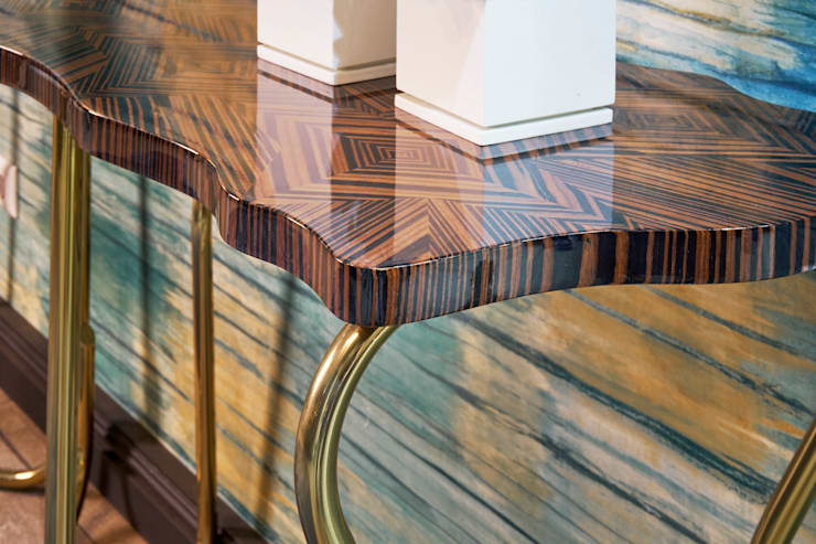 Hall: modern Corridor, hallway & stairs by Alfaiate d'Interiores