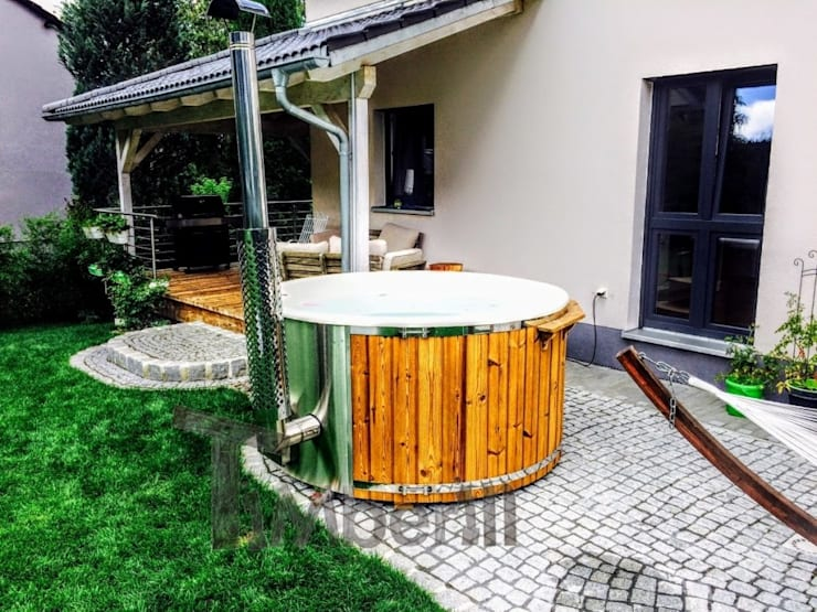 Hot Tub Deutschland : Jacuzzi hot tub sauna fireplace privacy like being alone