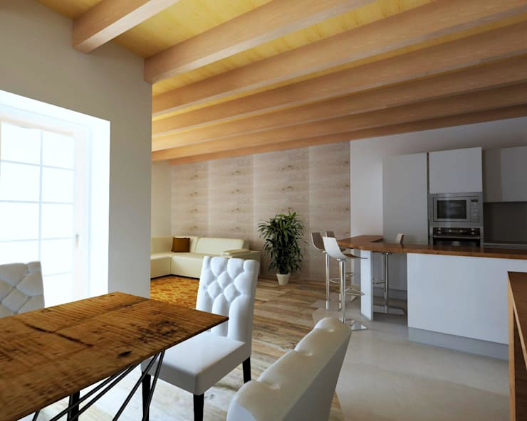 Como decorar la casa estilo rústico decoracion de interiores