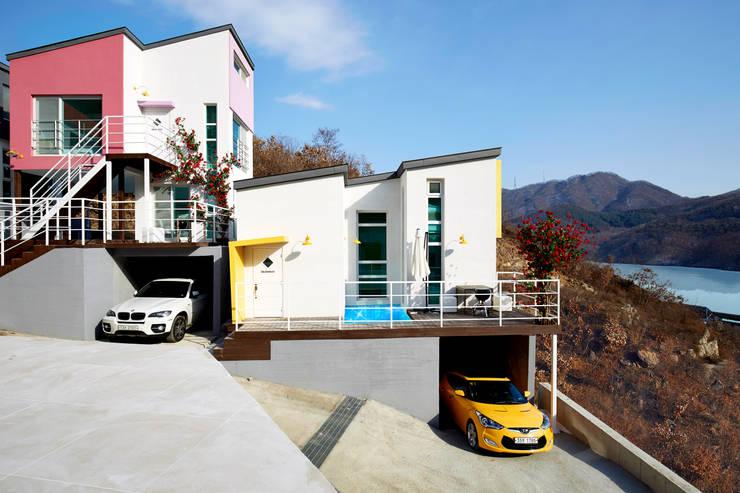 The Secret Pool Villa Resort 북한강(가평) Type Day Dream①: IAMDESIGN.의  호텔