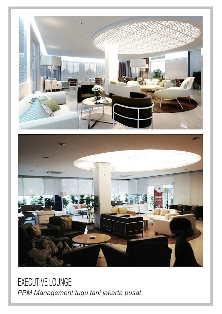 executive lounge ppm tugu tani :  Ruang Makan by TERAS23