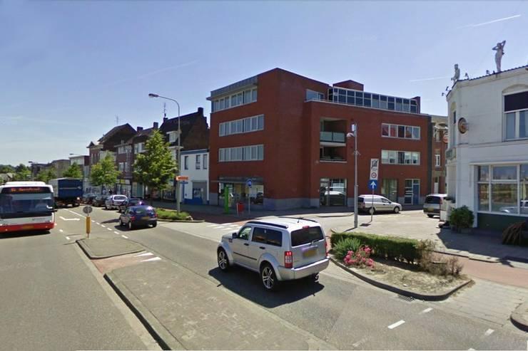 Winkel en Appartementen, Hoensbroek:  Huizen door Verheij Architecten BNA, Modern