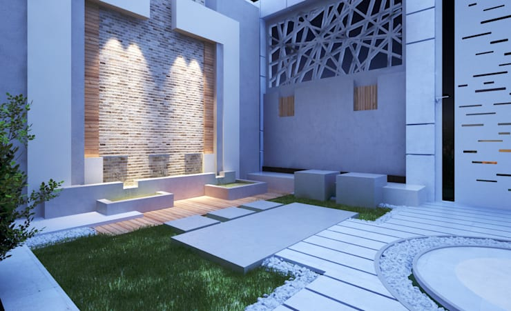 Walls & flooring by TK Designs