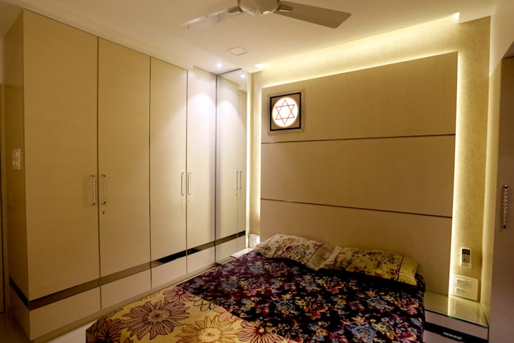 Interior: modern Bedroom by DaVi Studio