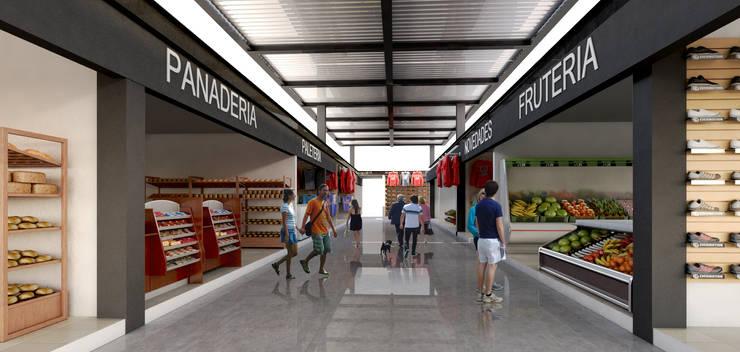 INTERIOR: Espacios comerciales de estilo  por EMERGENTE | Arquitectura