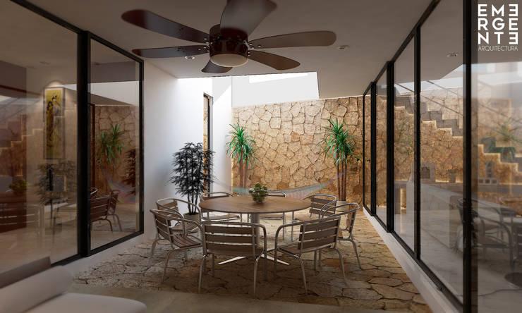 Terrazas de estilo  por EMERGENTE | Arquitectura