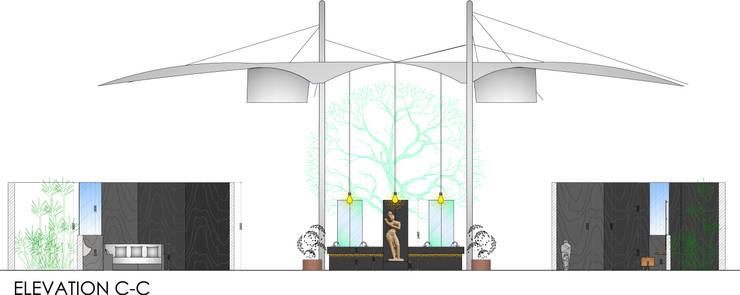 sketch for bar elevation:   by omkarcreateurs
