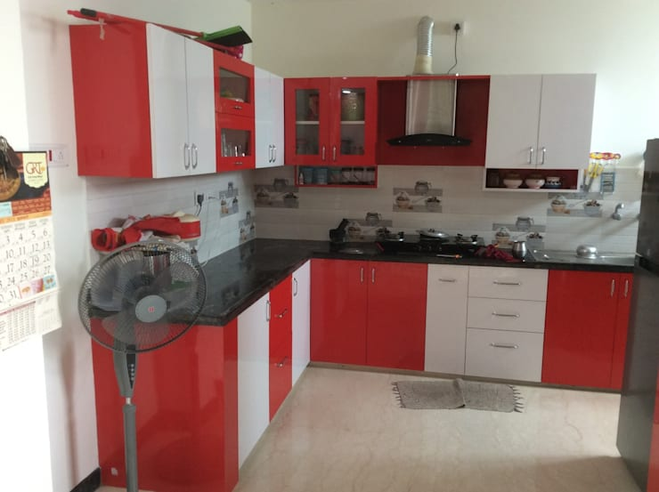 Interior:  Kitchen by Aspectra Interia Solution,Modern