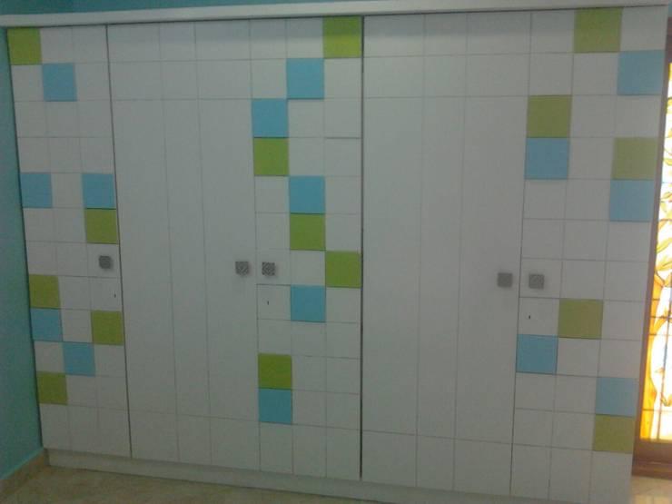 Interior:  Dressing room by Aspectra Interia Solution