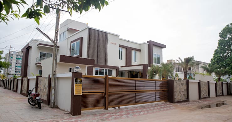 Front Elevation:  Bungalows by ZEAL Arch Designs