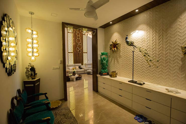 Foyer: modern Living room by ZEAL Arch Designs