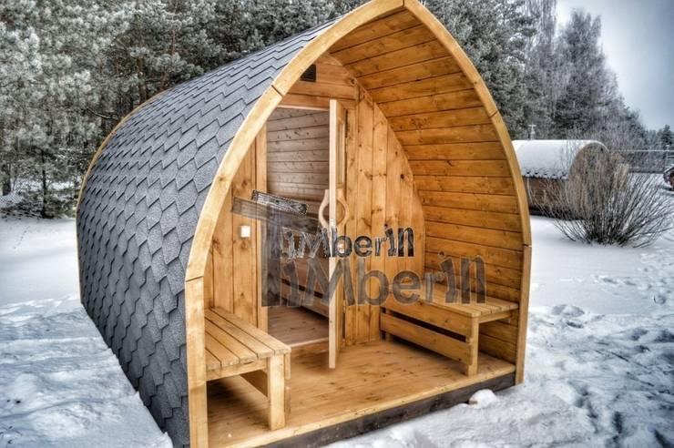 Timberin Badefass Badezuber Aussensauna Udendørs Sauna Til Salg