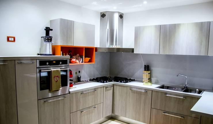 Linea Direttrice Cucina minimalista di Studio ARCH+D Minimalista