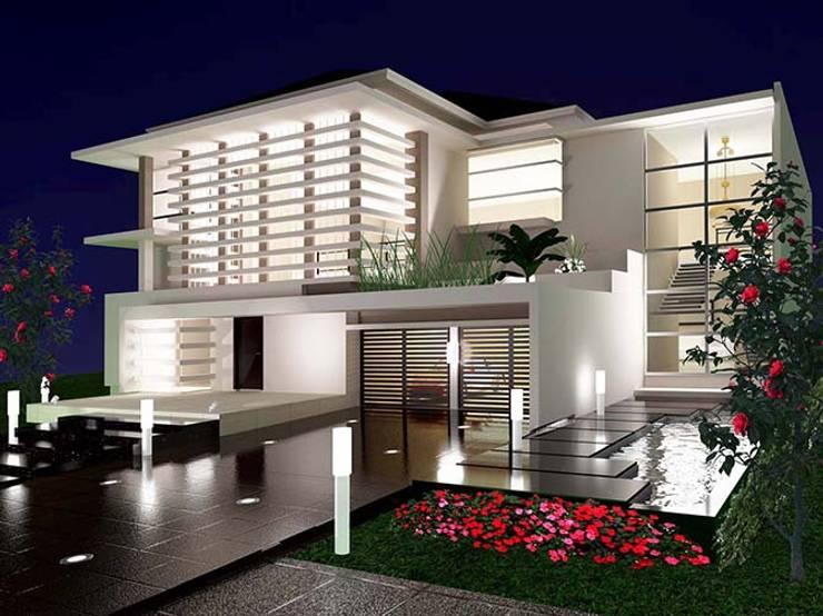Rumah Tinggal 2 Lantai Kemang:  Rumah by Adhicitta Karya Megah