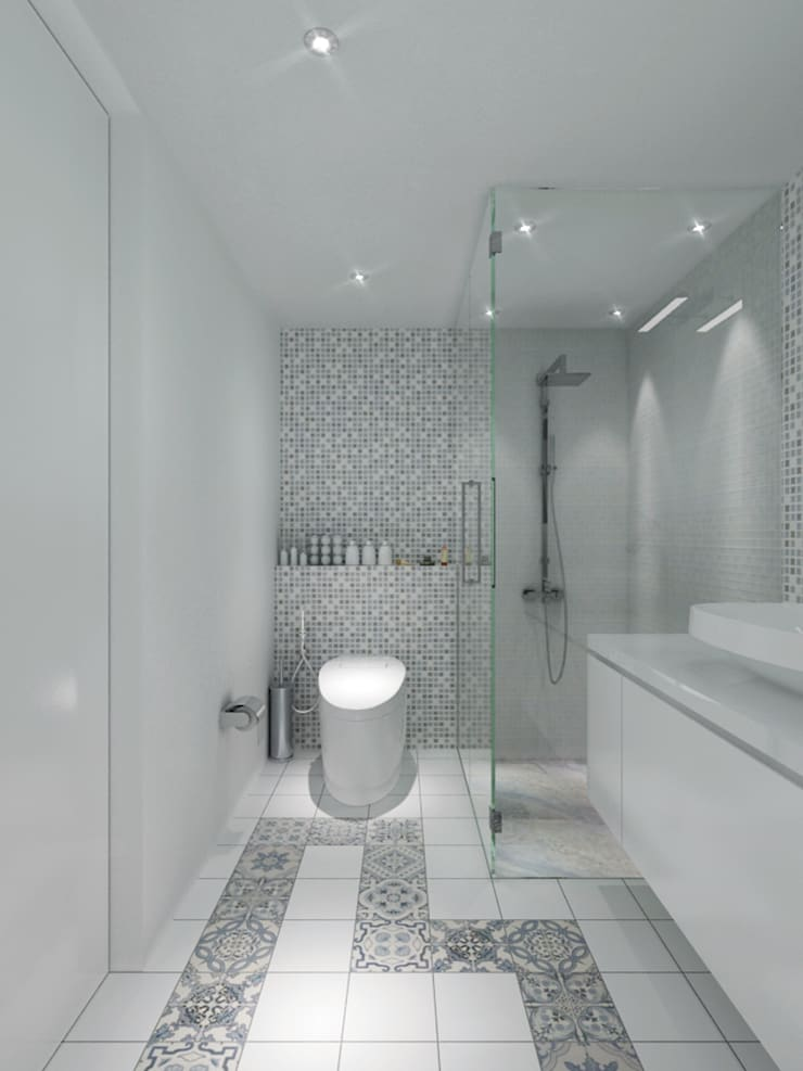 Bathroom by PT. Dekorasi Hunian Indonesia (DHI),