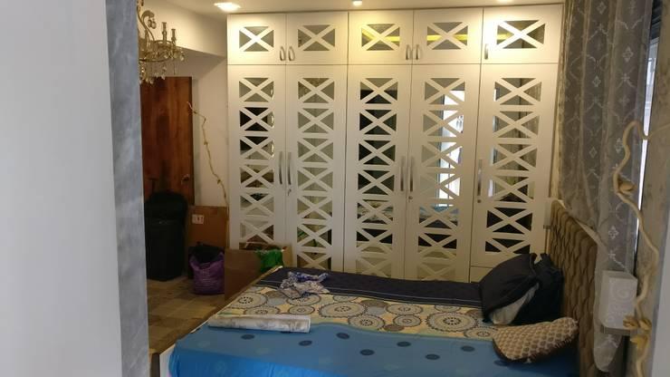 3BHK in Mystique Moods, Viman Nagar:  Bedroom by Umbrella Tree Designs