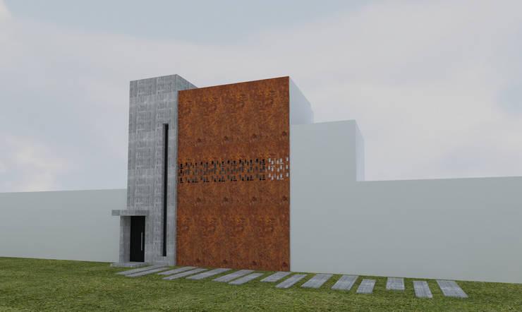 Estudio Gigante – Nueva Oficina: Oficinas y Tiendas de estilo  por Gigante ::: Estudio de Arquitectura