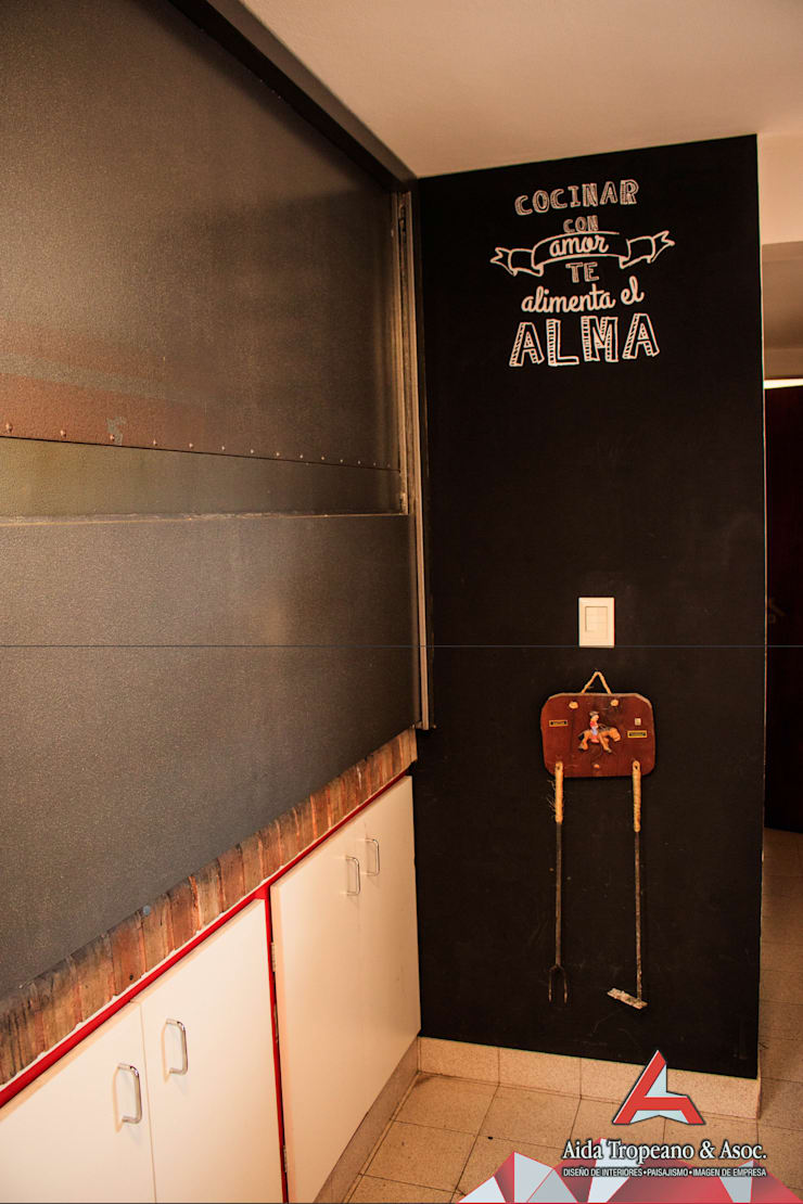 Parrilla:  de estilo  por Aida Tropeano & Asoc.,