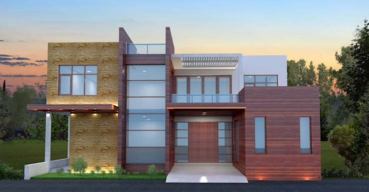 Bhupendra residence:  Villas by S. KALA ARCHITECTS