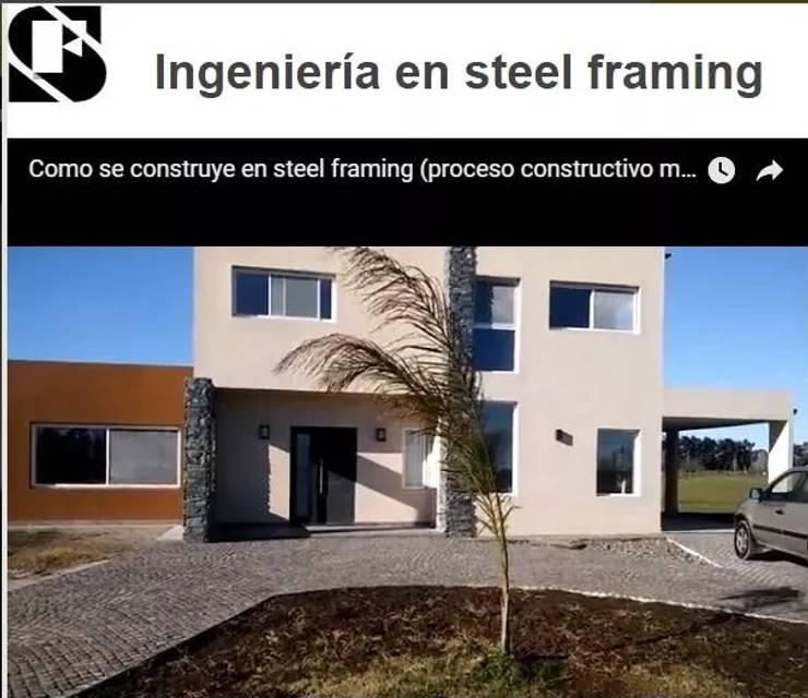 Proyecto ecosustentable llave en mano: Casas de estilo  por M&A Ingenieria ecosustentable,