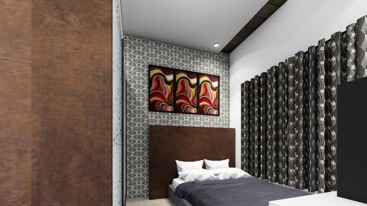 Commercial Cum Residential by Shanteshwar Society, Vijayapura: modern  by Cfolios Design And Construction Solutions Pvt Ltd,Modern