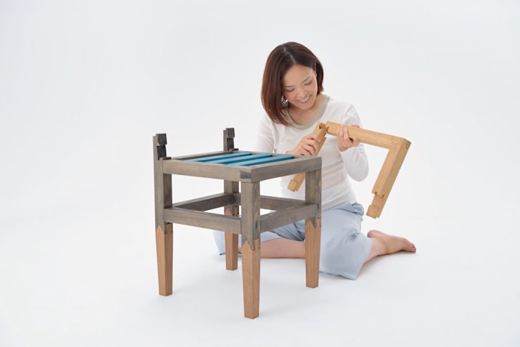 asian  by 伊藤憲吾建築設計事務所, Asian Wood Wood effect