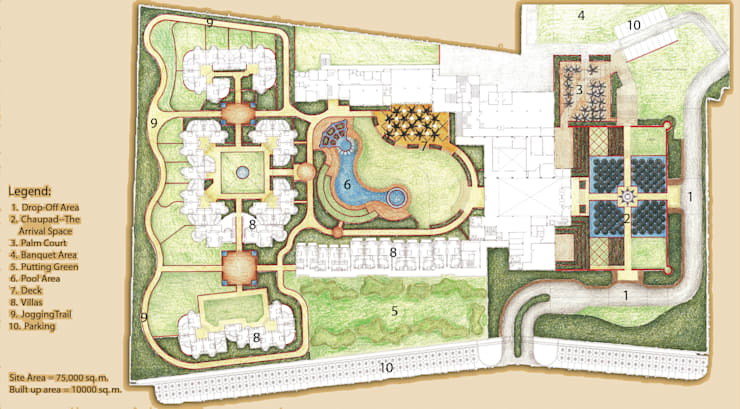 Master Plan:  Hotels by NMP Design