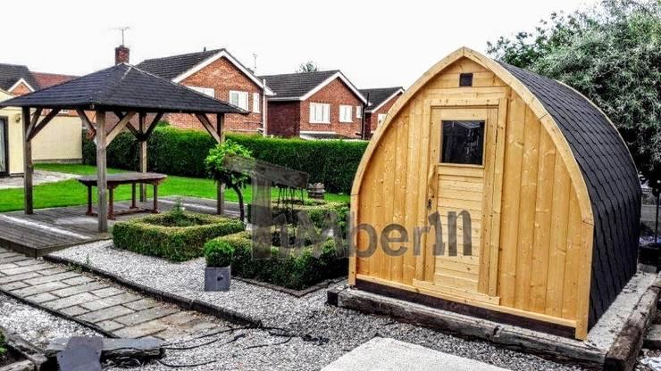 Igloo camping huis:  Spa door TimberIN hot tubs en sauna's