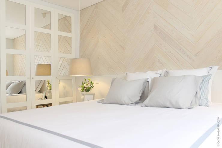غرفة نوم تنفيذ Catarina Batista Studio