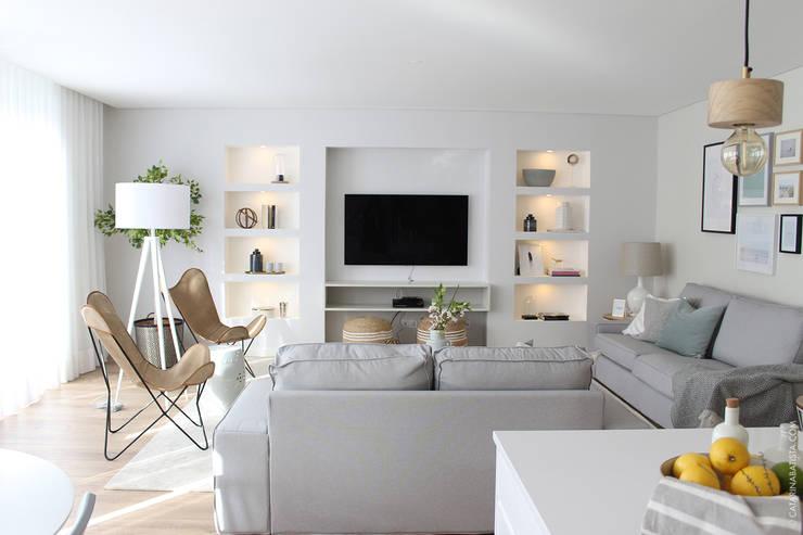 غرفة المعيشة تنفيذ Catarina Batista Studio