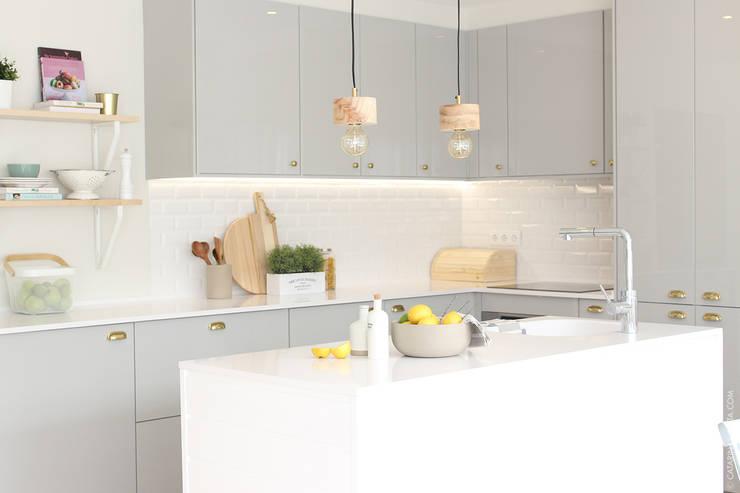 Muebles de cocinas de estilo  por Catarina Batista Studio