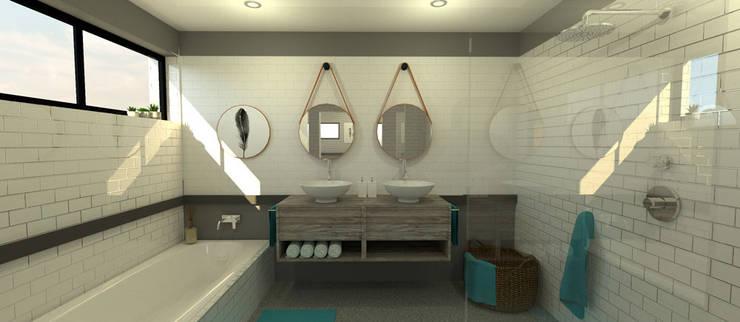 Bathroom:  Bathroom by A4AC Architects