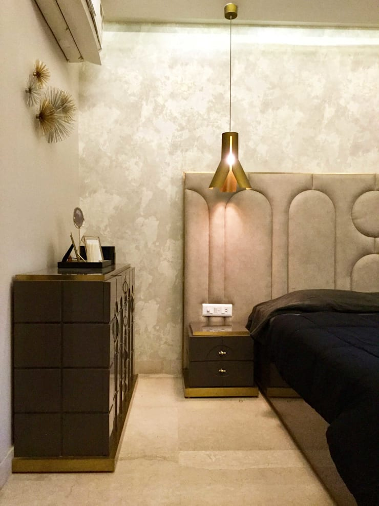 Residence Design, Bhera Enclave: eclectic Bedroom by H5 Interior Design