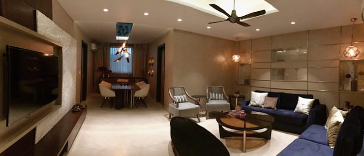 Living room by H5 Interior Design
