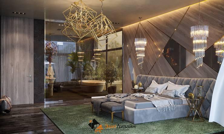 Bedroom by ЭлитДизайн - студия дизайна интерьера
