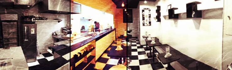 Remodelación Restorán Sumas : Restaurantes de estilo  por Incubar: Arquitectura & Construcción